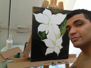 Pintura acrilica em tela