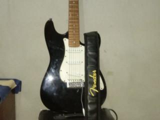 Guitarra+ caixa de som