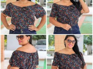 Vestido, blusa, short