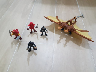 Base Samurai Imaginext com extras!
