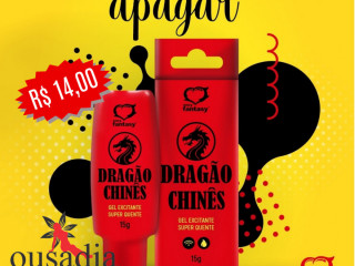Gel Excitante Dragão Chinês