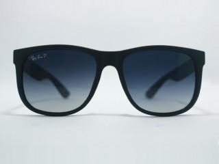 Óculos de sol JUSTIN Fosco POLARIZADO - Preto lentes Pretas