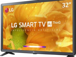 Smart TV Led 32'' LG HD Thinq AI 3 HDMI 2 USB Wi-Fi Bluetooth