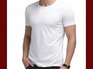 Camiseta Masculina Slim Fit Lisa