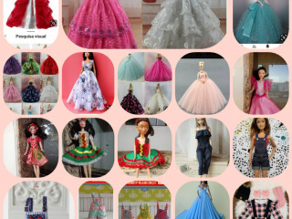 Roupas de bonecas barbie e similares