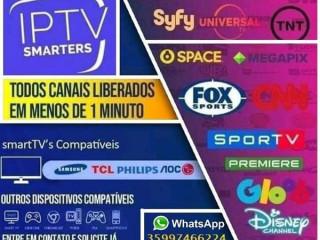 LIBERAMOS MAIS DE 300 CANAIS NA SUA TV