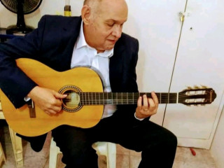 Aulas presenciais de violão