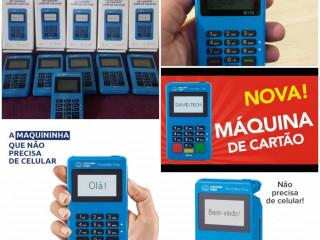 Descontos em máquinas de cartão de crédito