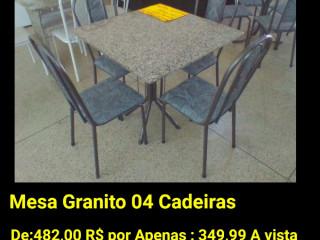 Mesa 04 cadeiras