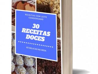 30 Receitas com Leite Condensado