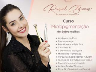 Curso Micropigmentação por Raquel Barros