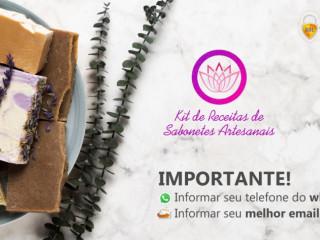 Curso Online - Kit Receitas de Sabonetes Artesanais Por R$ 29,90 (1 Un