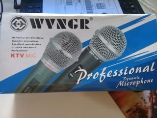Microfone wvngr m-58 dinamico cardioide