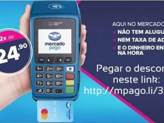Vendo Máquina de Cartão Mercado Pago (sem mensalidade)
