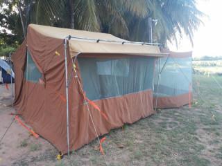 Vendo barraca de camping!