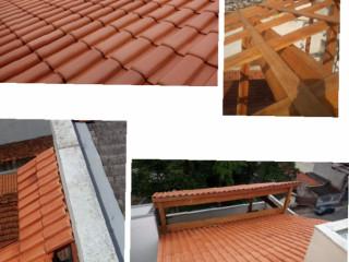Consertos e reformas de telhados em geral