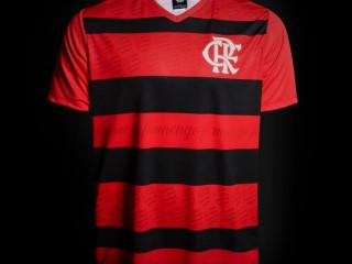 Camisa Flamengo 1995 n° 10 - Edição Limitada Masculina - Vermelho e Pr