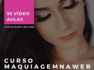 Curso de Maquiagem 100% Online e com Certificado incluso.