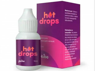 GEL HOT DROPS 10ML NUBE UNICA