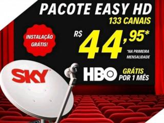 Sky TV com disponibilidade para todo Brasil
