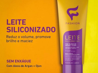 Leite Siliconizado Fashion/ Sem enxague