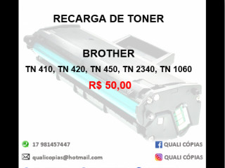 Recarga de Toner Brother