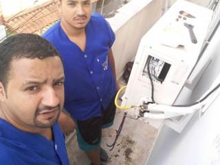 Instalações, manutenção de ar condicionado