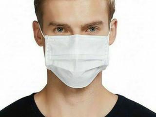 vende-se máscaras de TNT n40 duplo lavável com elástico nas cores bran