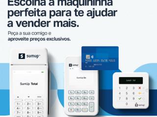 Maquina de cartão SumUp  entrega grátis
