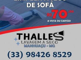 Limpeza de sofá a seco higienização Manhuaçu