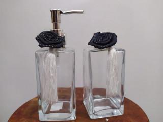 Kit - Difusor Frasco Âmbar com Válvula  Spray  Luxo