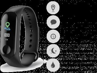 Relógio inteligente fitness