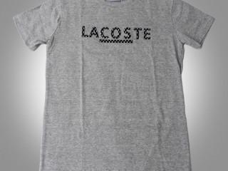Camisa Lacoste malha peruana algodão 30.1
