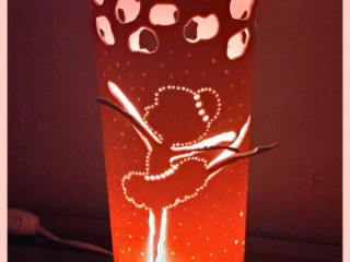 Luminária de Pvc Bailarina