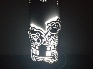 Luminária de Pvc Zoo Safari