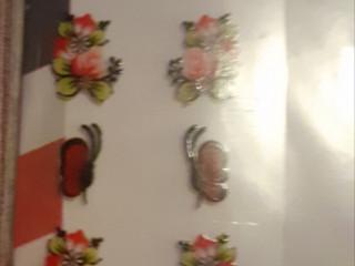Adesivos artesanais de unhas