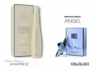 "Compartilhar:  Perfume angel ""luci luci f22"", cor Branco"