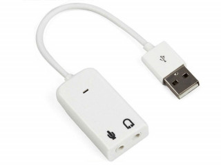 Placa de Som Externa USB