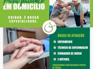 Serviços de saúde na assistência domiciliar