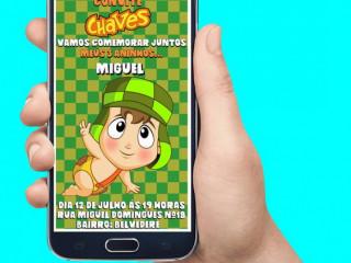 Convite Virtual Animado -Todos os Temas.