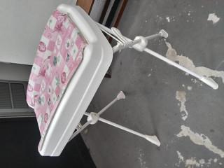 Trocador com suporte p/ banheira - Millenia - Peixinho Rosa - Burigott