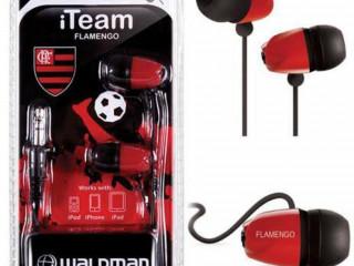 Fone de Ouvido Flamengo