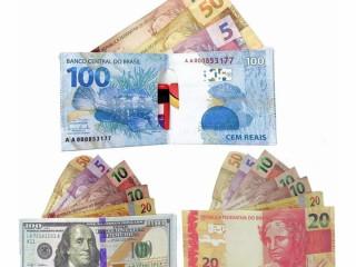 Carteira Personalizada Slim Modelo Dinheiro