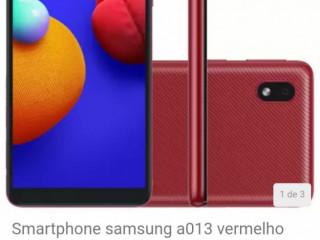 Smartphone Samsung a013 vermelho