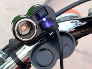 suporte carregador de celular para moto/Carregador usb tomada usb para