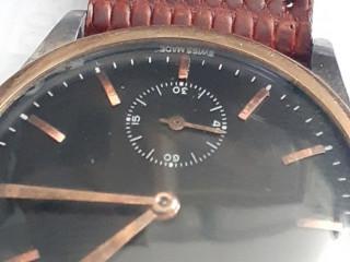 Relógio marca vacheron constantin aço ouro manual