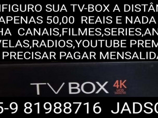 configuro sua tv box a DISTÂNCIA