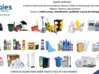 Produtos de limpeza e Descartáveis