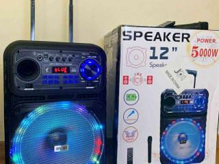 Caixa de Som 5000W Bluetooth Microfone S/ fio e Controle Remoto! ???