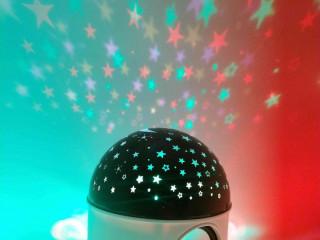 Abajur Luminária céu estrelado com Bluetooth ???? ????   ????